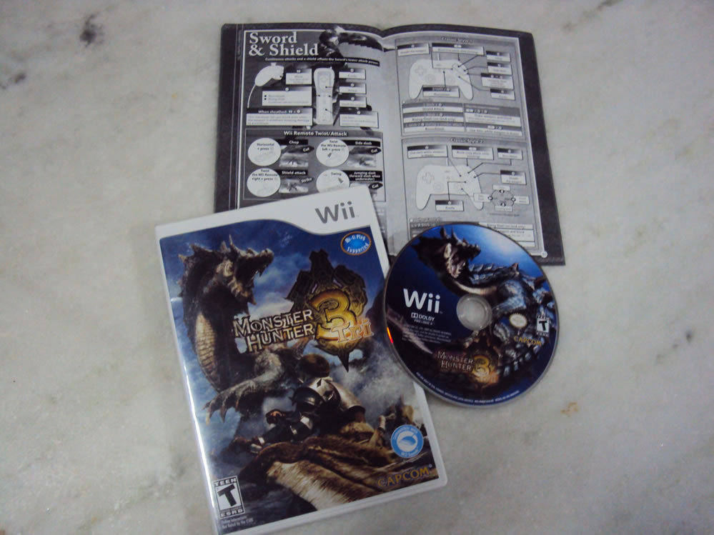 Monster Hunter Tri, Wii