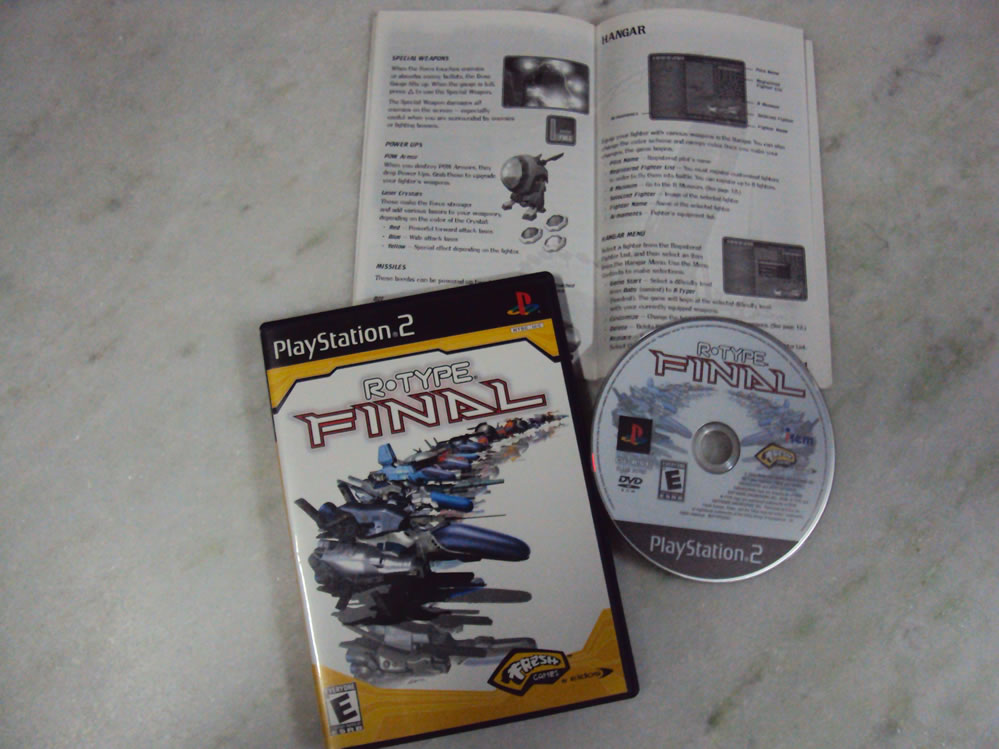 R-Type Final, Playstation 2