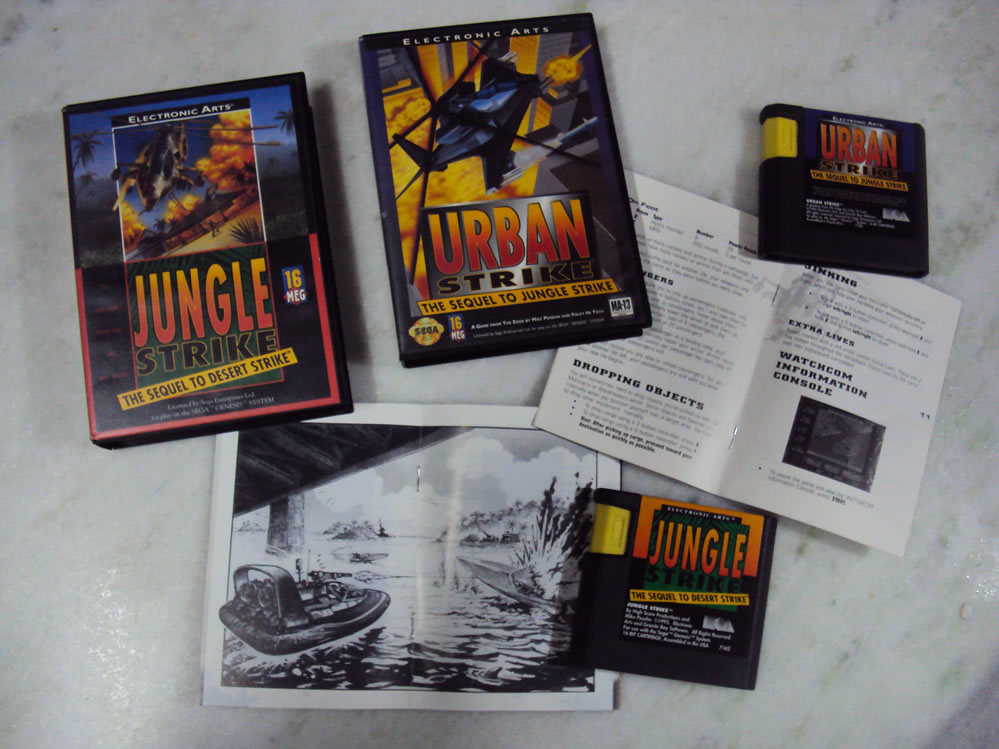 Jungle Strike e Urban Strike, Mega Drive