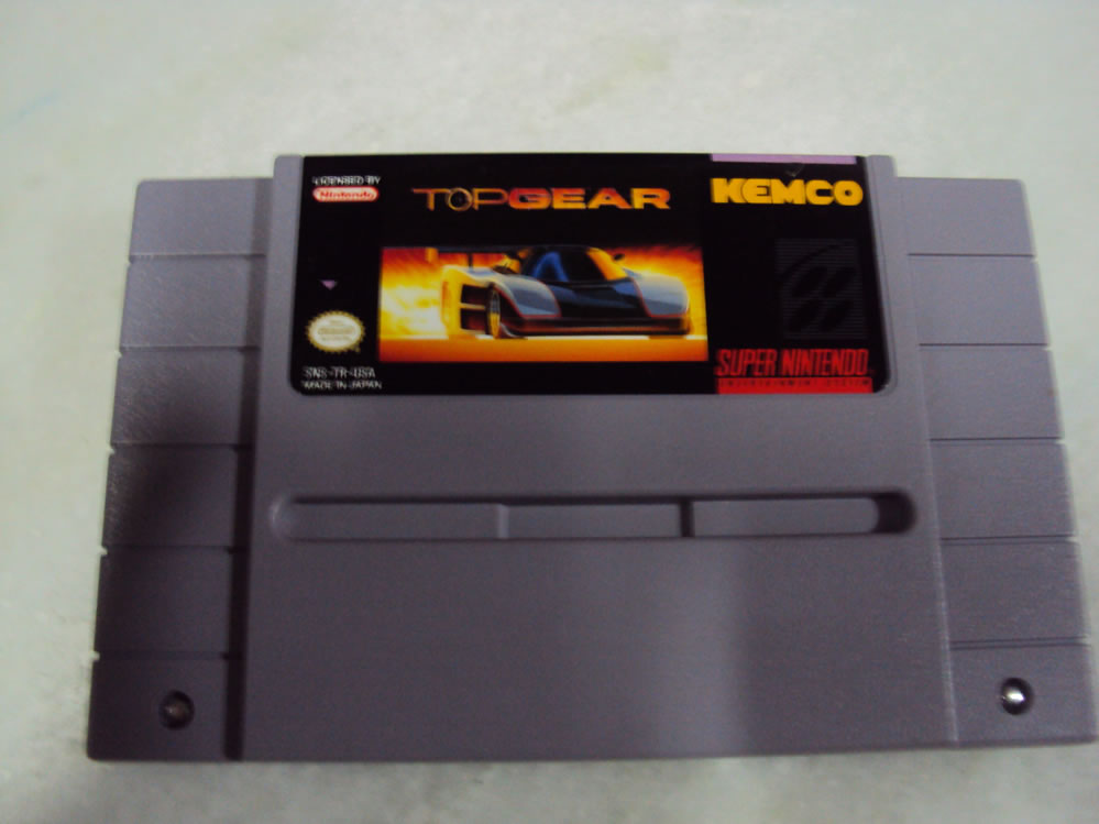 Top Gear, Snes